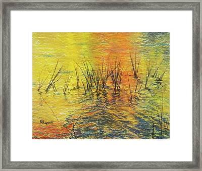 Reeds I Framed Print