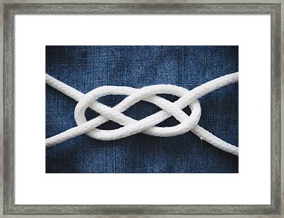 Reef Knot Framed Print by Jamie Grill