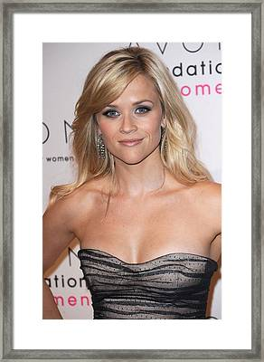 Reese Witherspoon At Arrivals For 10th Framed Print by Everett