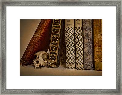 Reference Framed Print by Heather Applegate