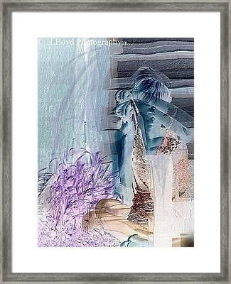 Reflect On Yourself Framed Print by Heather  Boyd