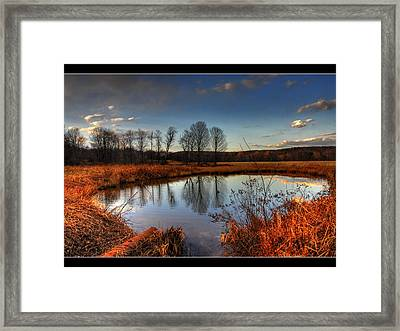 Reflect Upon Framed Print by Chris Hartman Price