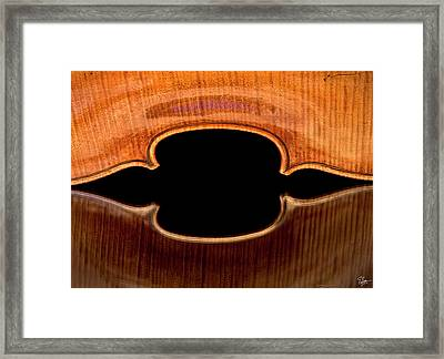 Reflected Corners Framed Print by Endre Balogh