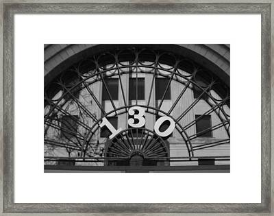Reflected Symmetry At 130 Framed Print by Artist Orange