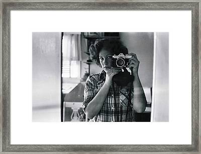 Reflecting Back Framed Print