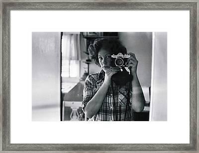 Reflecting Back Framed Print by Rory Sagner