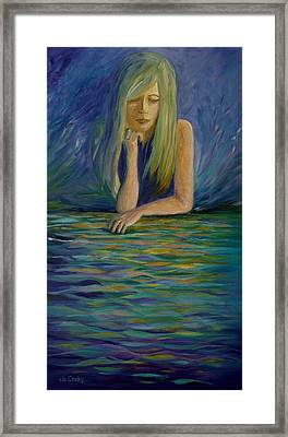 Reflecting On My Youth Framed Print by Joanne Smoley