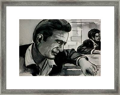 Reflecting Framed Print by Pete Maier