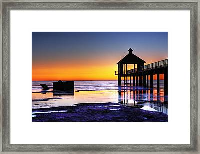 Reflecting The Night Framed Print by Pixel Perfect by Michael Moore