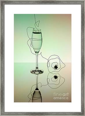 Reflection 02 Framed Print by Nailia Schwarz