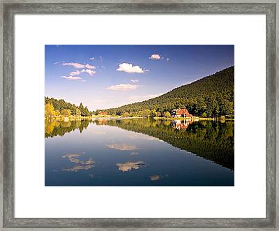Framed Print featuring the photograph Reflection - 2 by Okan YILMAZ