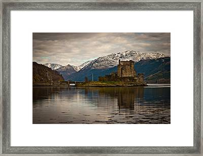 Reflection At Eilean Donan Framed Print