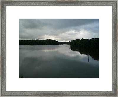Reflection Framed Print by Jessica Jandayan