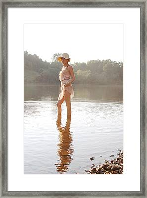 Reflection Framed Print by Jessica Wilson