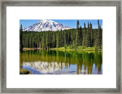 Reflection Lake Framed Print