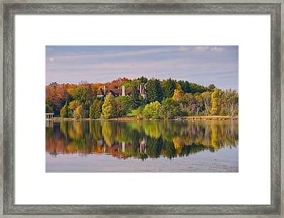 Reflection Framed Print by Luba Citrin