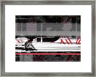 Reflection Framed Print by Naxart Studio