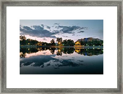 Framed Print featuring the photograph Reflection by Okan YILMAZ