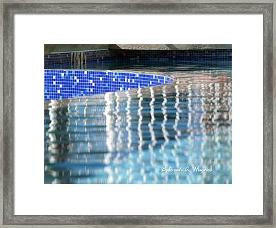 Reflection Pool Framed Print
