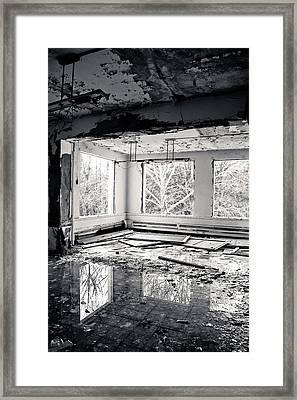Reflection Pool Framed Print by Matthew Saindon