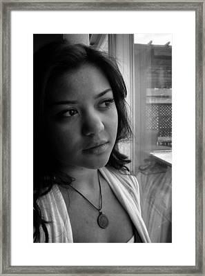Reflection Framed Print by Tami Rounsaville