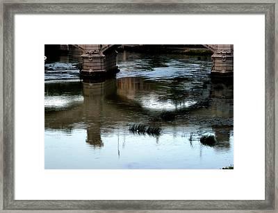 Reflection Tevere Framed Print