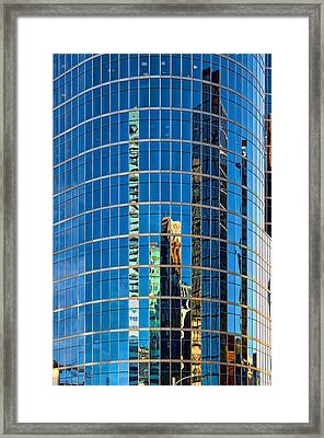 Reflections 3 Framed Print by Mauro Celotti