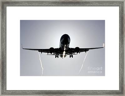 Framed Print featuring the photograph Reflections by Alex Esguerra