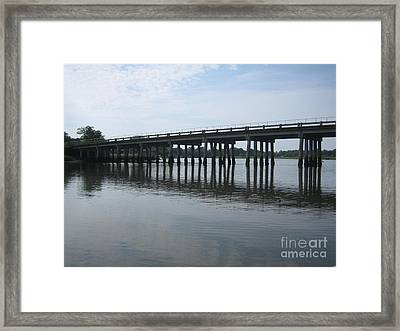 Reflections Framed Print by Blanche Knake