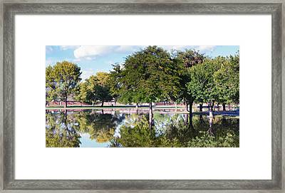 Reflections Framed Print by Diane Wood