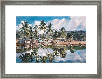 Reflections  Framed Print by Gregory Jules