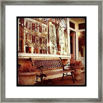 Reflections In Brooklyn Framed Print