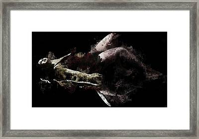 Reflections In Repose Framed Print