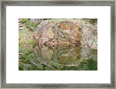 Reflections In The Colorado Rocky Mountains  Framed Print by James BO  Insogna