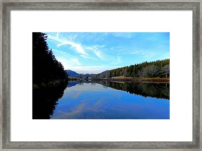 Reflections Framed Print by Jamie  Campbell