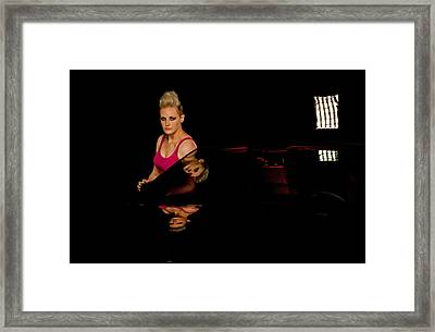 Framed Print featuring the photograph Reflections by Jim Boardman