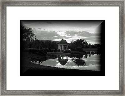 Reflections Framed Print by Karen Harrison