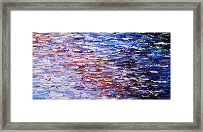 Framed Print featuring the painting Reflections by Kume Bryant