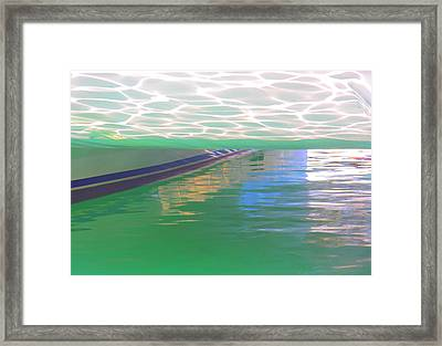 Framed Print featuring the photograph Reflections by Nareeta Martin