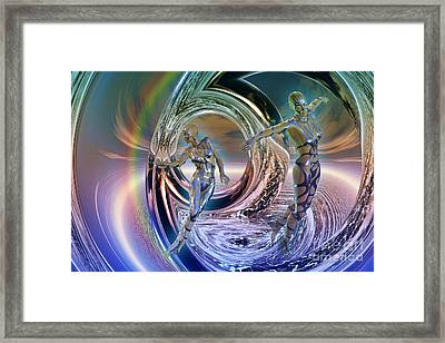 Reflections Of Freedom Framed Print by Shadowlea Is