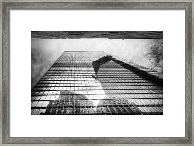 Reflections Of Freedom Framed Print by Vicki Jauron