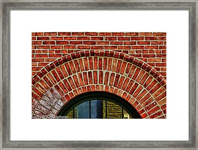 Framed Print featuring the photograph Reflections Of Paint by Rachel Cohen