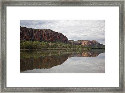 Framed Print featuring the photograph Reflections Of The Ord. by Carole Hinding