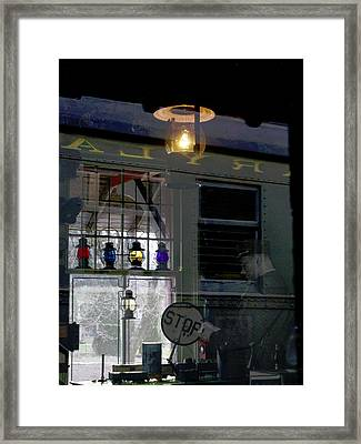Reflections Of The Past Framed Print by L Granville Laird