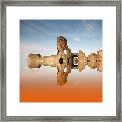 Reflections Of The Past Framed Print by Sharon Lisa Clarke