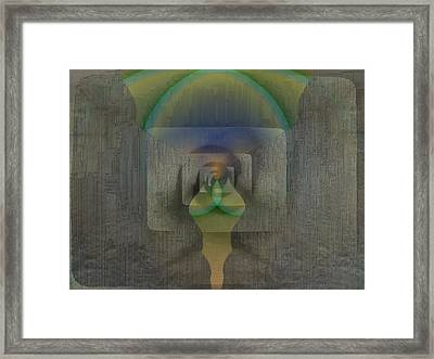 Reflections Of The Soul Framed Print by Tim Allen