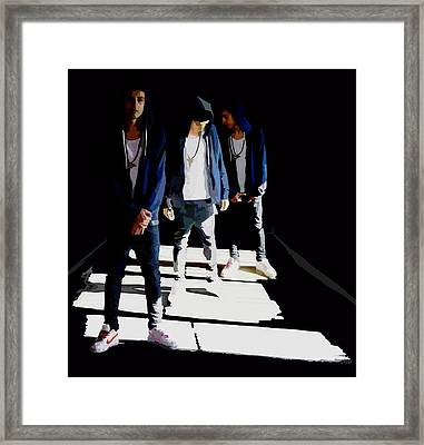Reflections Of Xon Framed Print by Alfie Borg