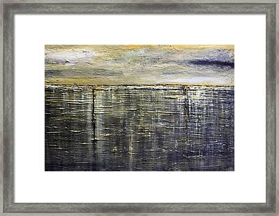 Reflections Of Yesterday Series  Framed Print