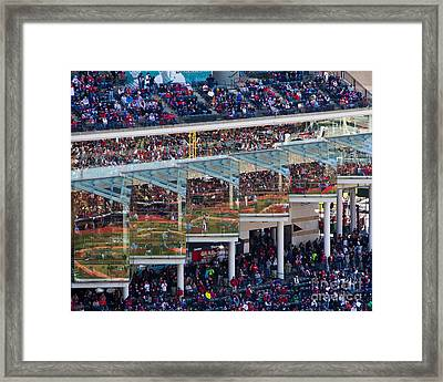 Reflections On Opening Day Framed Print by Jeremy Fear