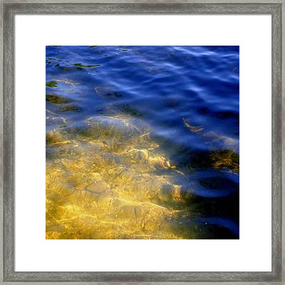 Reflections On Sandwell Framed Print